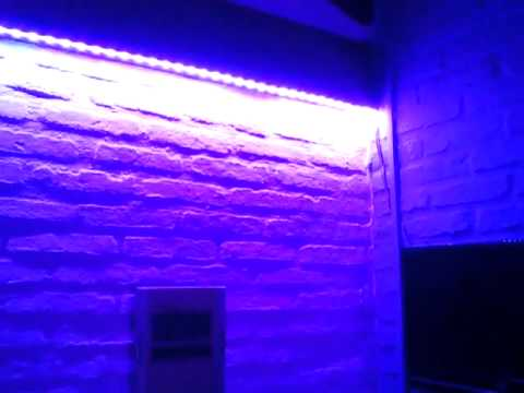 Luces tiras led en un cuarto muy bueno youtube - Tiras de led exterior ...