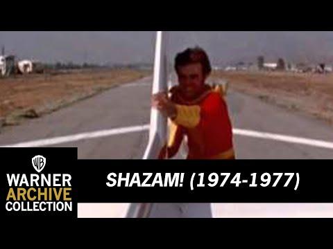 Captain Marvel stops a plane Shazam TV Series