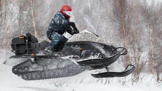 Стелс 800 Росомаха. Испытания в Хакасии(Обновленный снегоход Стелс Росомаха 800 в Приисковом., 2014-11-06T18:23:03.000Z)