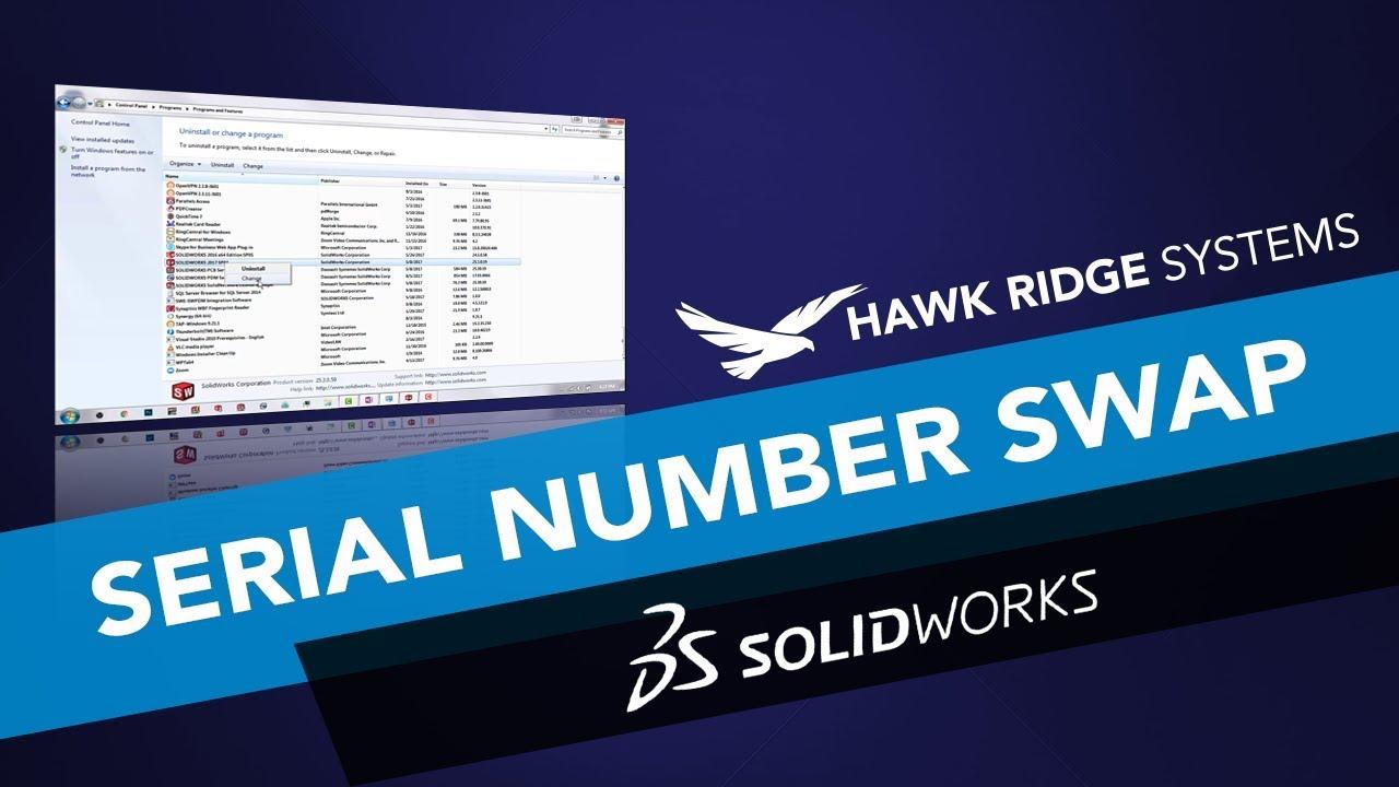 solidworks 2017 sp0 serial number