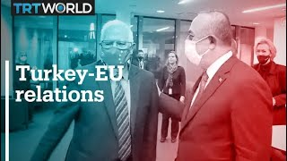 Turkey EU relations on the table as officials visit Turkey