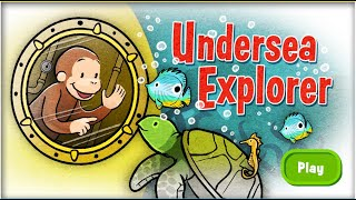 Curious George -  Undersea Explorer Full Episodes Cartoon Game HD 1080p