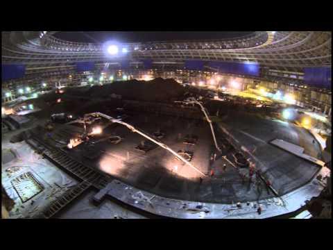 фото лужники декабрь стадиона строительство