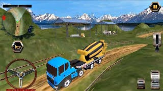 Big Euro Truck Parking Legend - Cement Mixer Truck Android Gameplay FHD