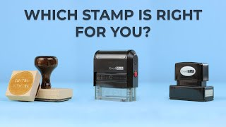 Different Types of Rubber Stamps
