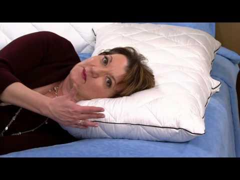 Comfort Evolution Down & Memory Foam Customized Sleep Pillow on QVC