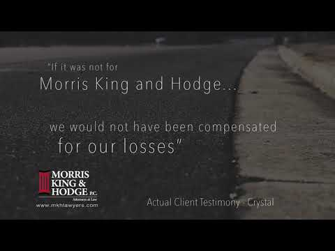 Morris King & Hodge Client Testimonial - Crystal