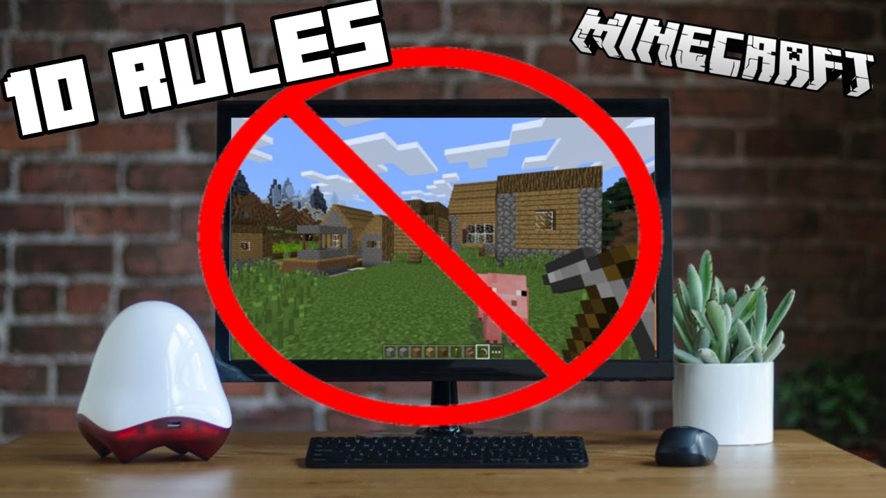 11 Rules That Should NEVER Be Broken In Minecraft