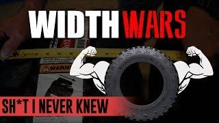 Sh*t I Never Knew: WIDTH WARS