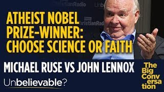 Professor John Lennox: Atheist Nobel prize winner tried to make me abandon my faith