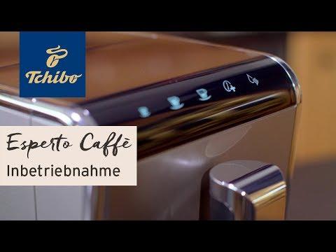 "Inbetriebnahme: Kaffeevollautomat ""Esperto Caffè"" | Tchibo"