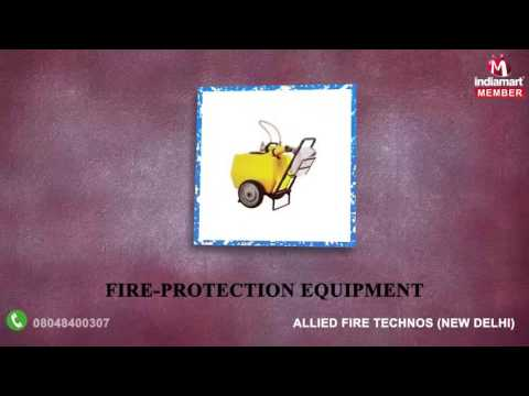 Fire Safety Products By Allied Fire Technos, New Delhi