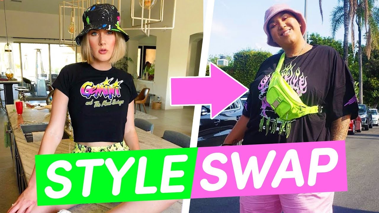 Best Friends Swap Fashion Styles For A Day