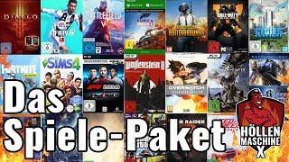 Das 600€-Spiele-Paket der Höllenmaschine X !! | #GamingPC #Verlosung #Giveaway