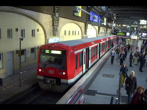 Train simulator 2017 (TS17) Hamburg S-Bahn S-1 line first run