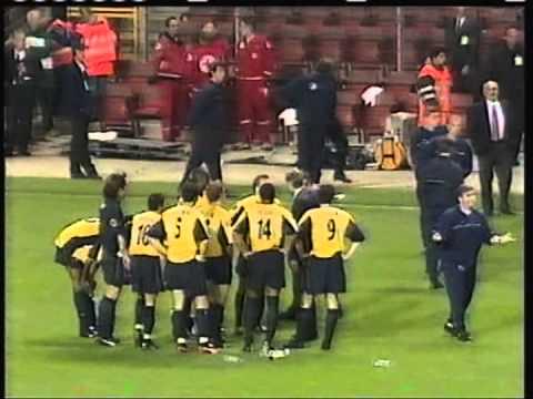 2000 May 17 Galatasaray Turkey 0 Arsenal England 0 UEFA Cup