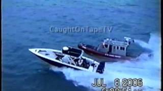 Coast Guard Boat Chase!