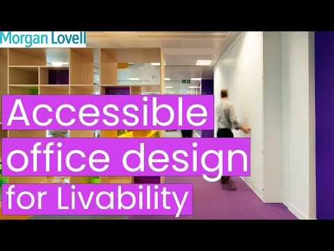 Accessible Office Design for National Charity Livability