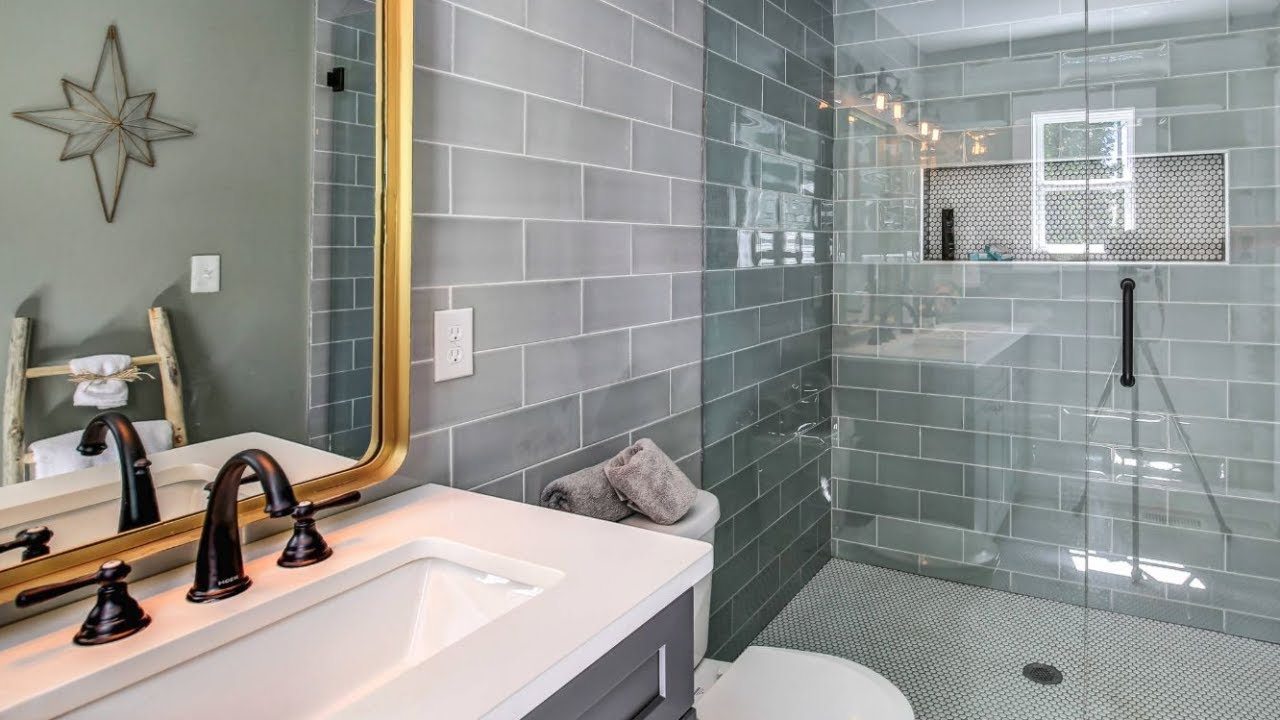 30 Bathroom Tile Ideas - YouTube