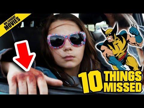 LOGAN Trailer 2 - Things Missed, Easter Eggs & History Of Wolverine