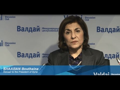 Bouthaina Shaaban: Syrian People Will Never Accept Partition of Syria