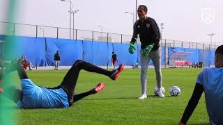 الدحيل يختتم إعداده لمواجهة نادي قطر في نصف نهائي كأس QSL