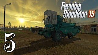 Средняя полоса России || #5 - Продолжаем сначала || Farming Simulator 15