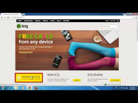 How To Install ICQ App And Use It. Best Professional Review.