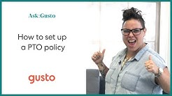 How to Set up the Right PTO Policy for Your Business