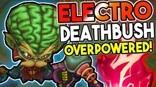 ELECTROCUTE MAKES HEIMERDINGER DEADLY IN THE BUSHES! ELECROCUTE RUNE BURST OP! - League of Legends
