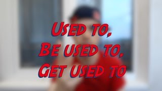 Used to, Be used to, Get used to - Learn English online free video lessons(This video is about used to, be used to, and get used to. Don't forget to subscribe for more FREE ENGLISH VIDEO LESSONS ..., 2016-06-11T04:37:31.000Z)