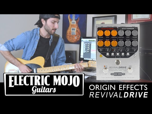 Origin Effects Revival Drive Review | Pedal Demo