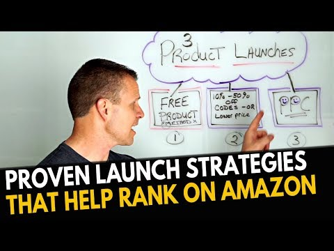 How to Launch Products on Amazon in 2018 and RANK (3 Strategies)