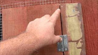 How To Make A Chicken House Window