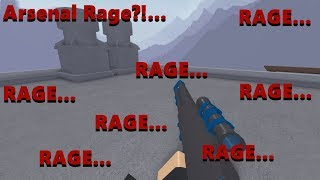 Raging In Arsenal | Roblox: Arsenal