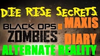 Die Rise Secrets: Alternate Realities? - Dr. Maxis Diary Entry 10, Study #0804 (Episode 2)