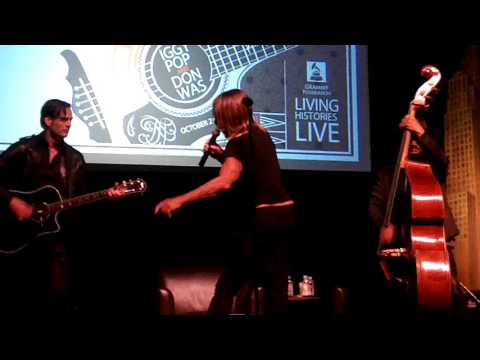 Iggy Pop and Don Was with Dean Fertita - Butt Town (10-23-16)
