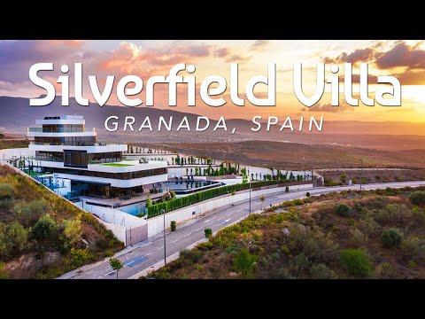 SILVERFIELD VILLA   6-Floor Glass Elevator Mega Villa Of Granada, Spain