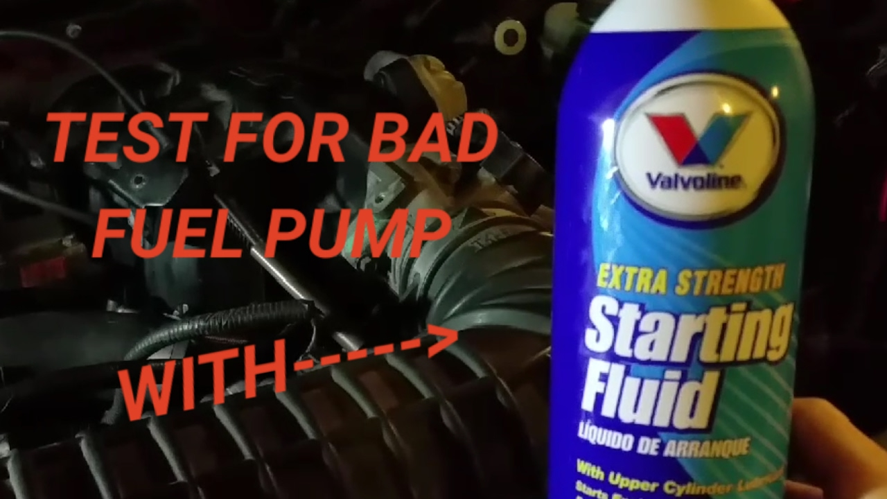 bad fuel pump fuel pump relay no fuel problem  [ 1280 x 720 Pixel ]