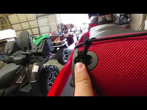 How to attach a blue tooth speaker to a pwc, wave runner, seadoo, or jet ski. Jbl xtreme