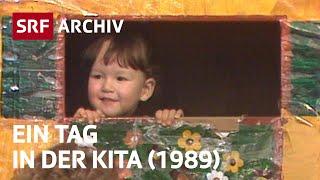Kinderkrippen - Notlösung oder Notwendigkeit? (1989) | Kindererziehung in der Schweiz | SRF Archiv