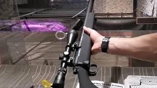 רובה צלפים מסוג VSR-10 איירסופט. רובה אוויר כבסיס לשדרג ברמה גבוהה.