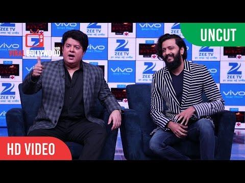 UNCUT - Yaaron Ki Baraat Show Launch   Riteish Deshmukh, Sajid Khan   Zee TV