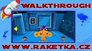 Monkey GO Happy Sci-fi 2 - Návod - Walkthrough
