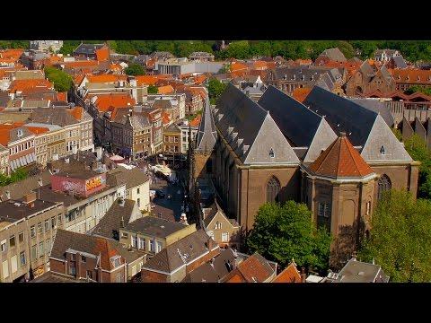 Zwolle Cityscape 4K/UHD | Overijssel | Netherlands | Europe | Tour | Guide | Ultra-HD