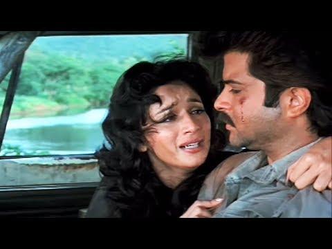 Anil Kapoor, Madhuri Dixit,Tezaab - Scene 17/20 (k)