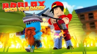 WER IHR DADDY, ROPO THE WORST DAD EVER !!! Sharky Gaming | Roblox