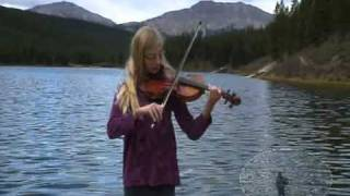 Cuckoo Waltz - Old time fiddle tune - Susanna Heystek-  at Peppers Lake
