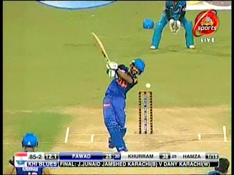 Amazing Bating By Fawad Alam In National T20 Cup