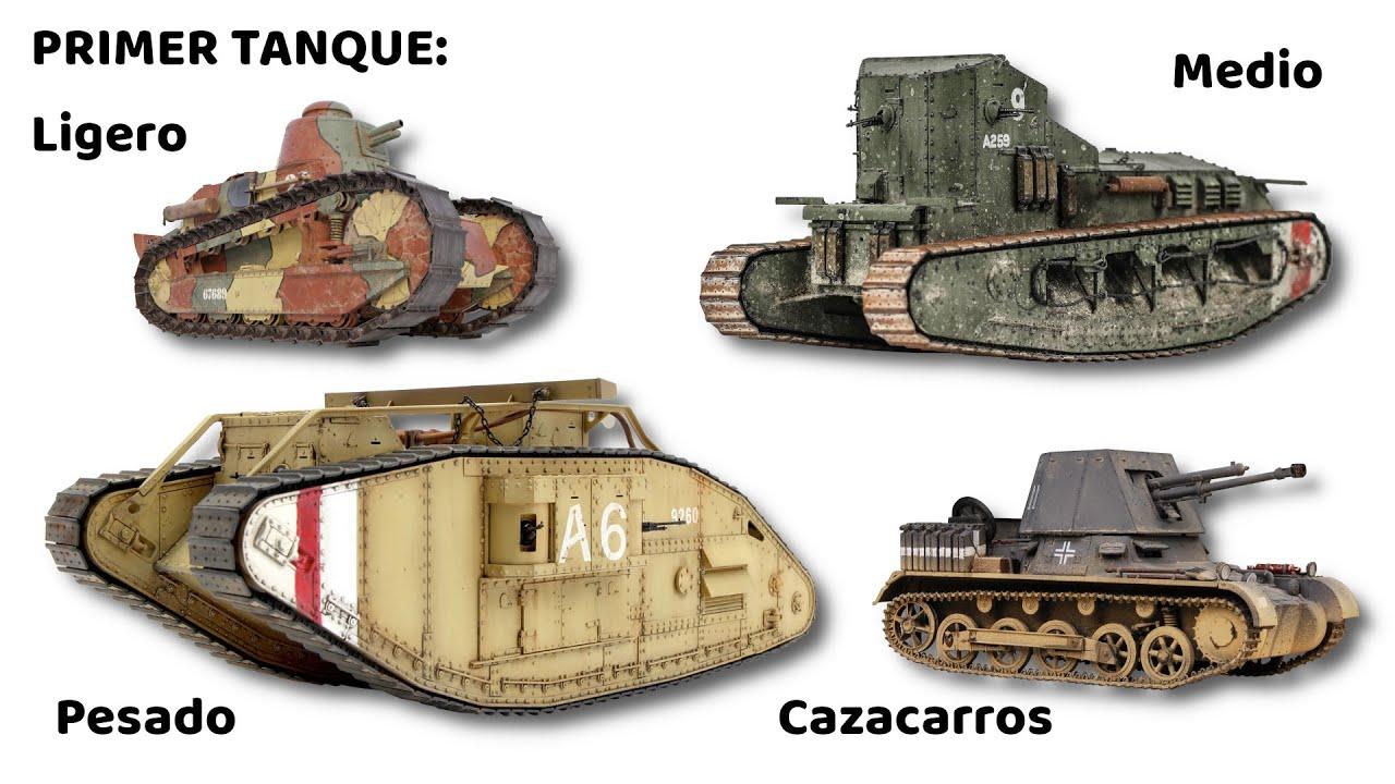 ¿Cuál fue el Primer Tanque de cada Tipo?